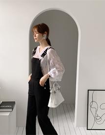 Crumple blouse