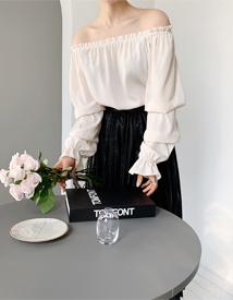 Roe off-shoulder blouse
