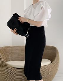 Monika knit skirt