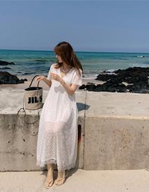 Mukul lace dress