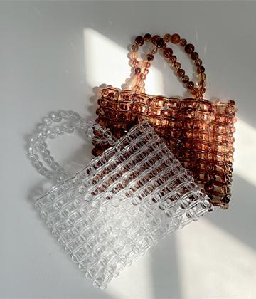 Bold-beads bag