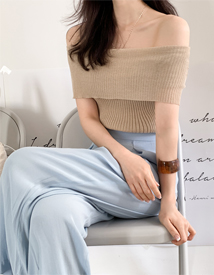 Perfect boat neck knit