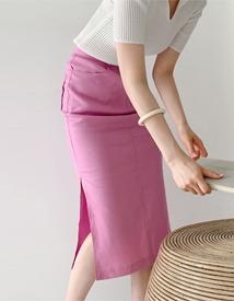 Areca slit skirt