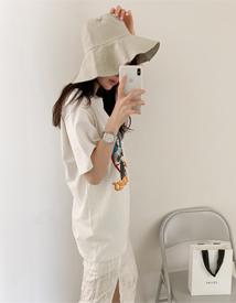 Jacqueline linen hat
