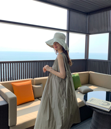 Elize shirring dress