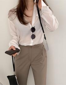 Rayon silk blouse