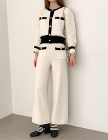 Feminine classic pants
