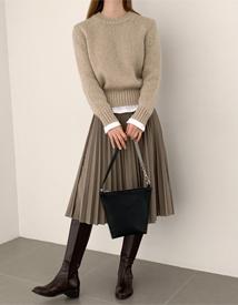 Bints pleats skirt