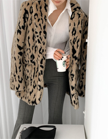 Weldon leopard jacket