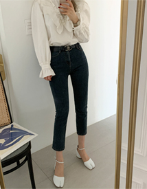 Mink gimo denim pants