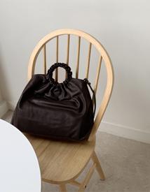 Wrinkle leather bag