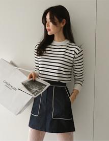 Baba stripe knit