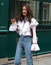 Hofmann lace blouse
