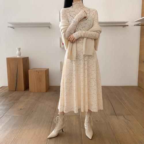Monaco lace dress